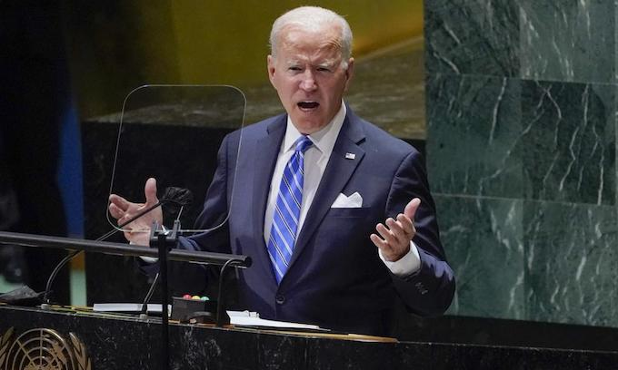 Updated: Bumbling Biden faces severe credibility test at United Nations