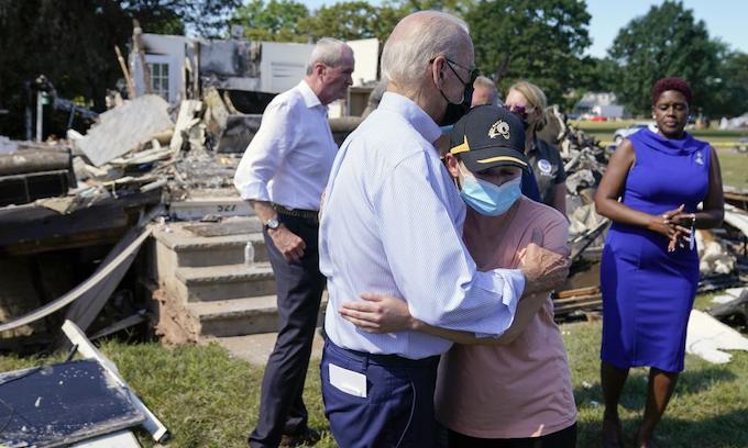 In NYC, NJ Biden pumps climate change; gets heckled on Afghanistan debacle