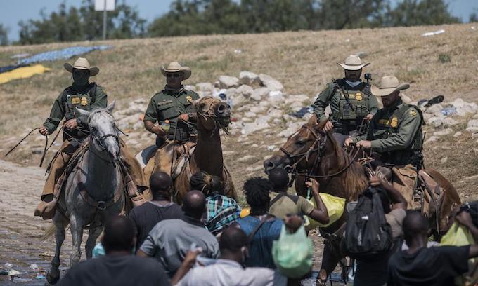 Missing VP surfaces to denigrate the border patrol