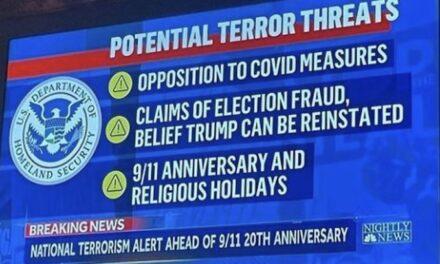 'Potential Terror Threats' according to Biden's DHS