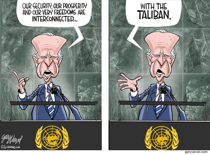 Joe at the UN