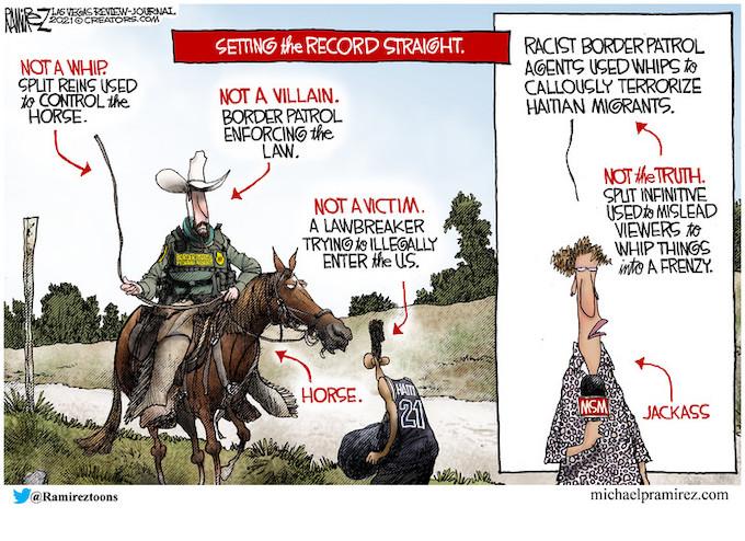 Democrats attack border patrol, defend invaders