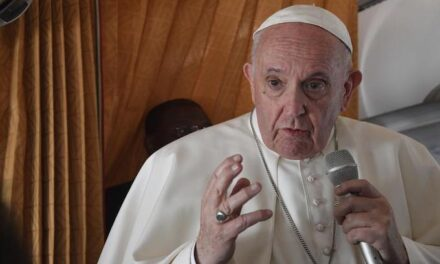 Pope: No place for politics in Biden Communion flap