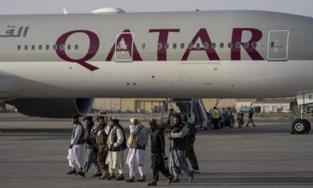 National Security Council praises Taliban as 'businesslike and professional' after plane with Americans allowed to leave Kabul