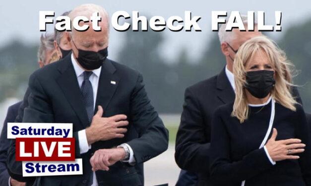 FAIL! Biden Watch 'Fact Check' Gets Corrected