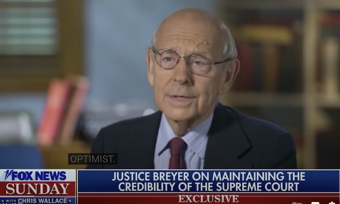 Justice Stephen Breyer says that he'll retire on his own terms