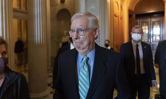 McConnell caves, debt ceiling rises for 2 months