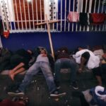 Northbound caravan rests, recoups in southern Mexico town