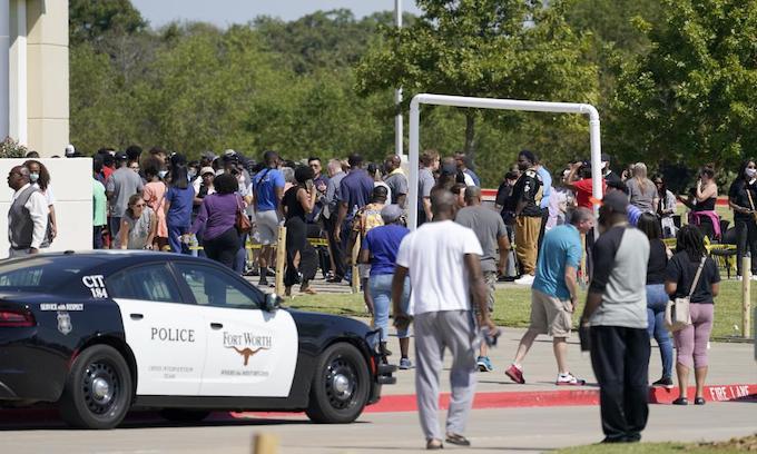 Student taken into custody hours after Texas school shooting