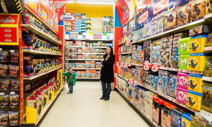 Big California retailers must offer gender-neutral children's aisles under new law