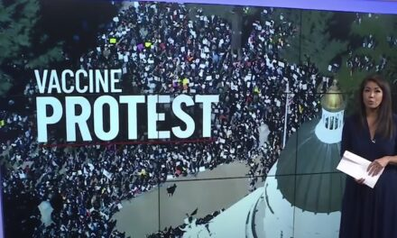 Parents rally to protest Newsom's vaccine mandate for children